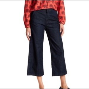 J Crew rayner culotte wide leg pants